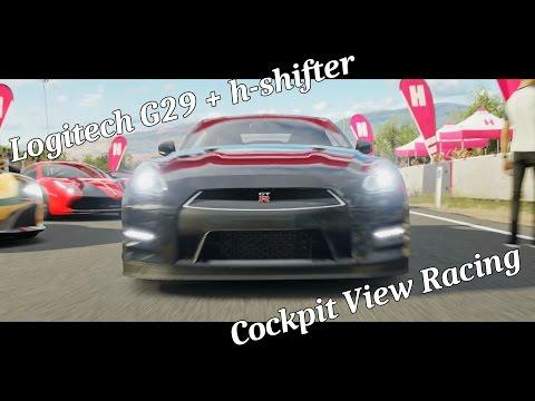 Forza Horizon 3 - Racing in Cockpit View Manual Clutch /w H-Shifter