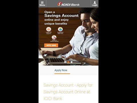 ICICI Bank saving account open online