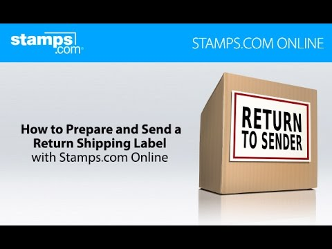 How to Prepare and Send a Return Shipping Label - Stamps com Online