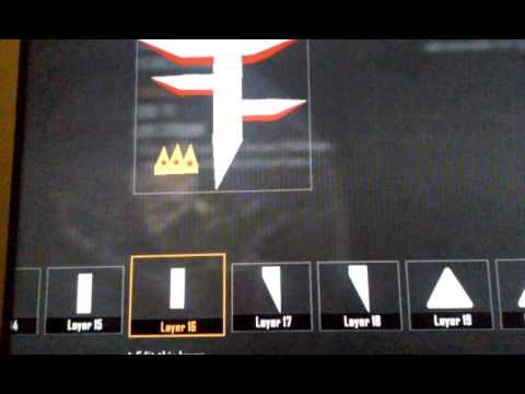 How to make a faze emblem