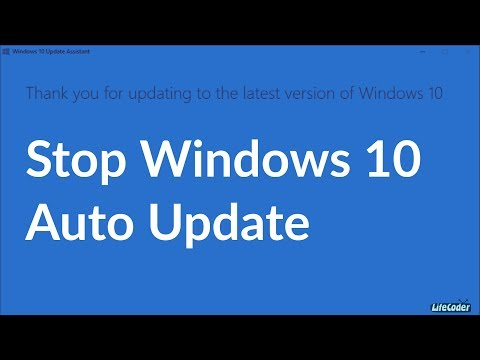How to stop Windows 10 Automatic Update Assistant Permanently