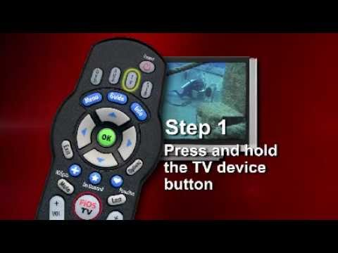 How to Program Remote Control without Manual - FiOS TV Phillips