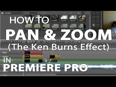 How to Pan and Zoom in Premiere Pro