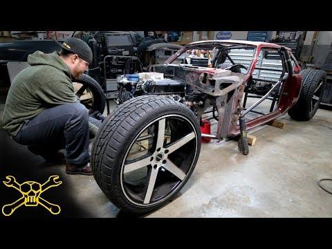 Front Suspension | Fox Body Mustang Hot Rod Build