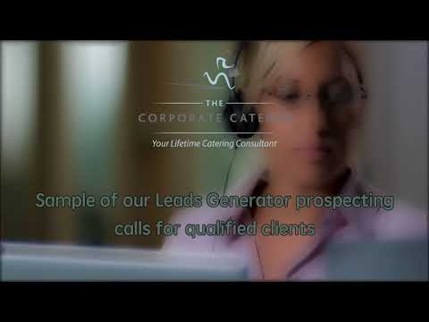 A real call of a lead generator prospecting new clients