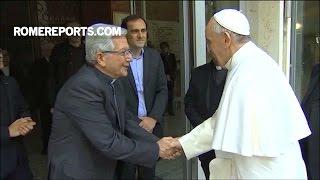 Đức Giáo hoàng Phanxico và Giáo triều Roma rời khỏi Roma để bắt đầu kỳ linh thao