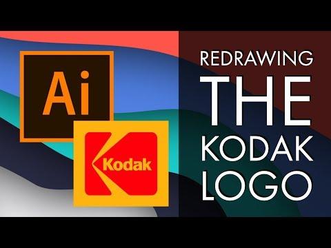 Redrawing the Kodak Logo - Adobe Illustrator CC 2018  [34/39]