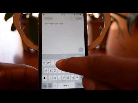 How to disable lower case keys in iOS 9 - iPhone Hacks