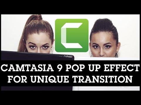 Camtasia 9 Creative Editing Idea: Use This Video Pop Up Effect as a Unique Transition
