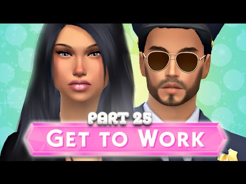 The Sims 4 | Get To Work | Part 25 - Alien CRATER?