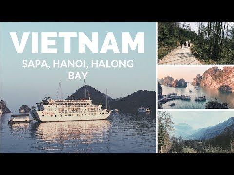 7 DAYS IN SAPA, HALONG BAY, HANOI (watch in HD)