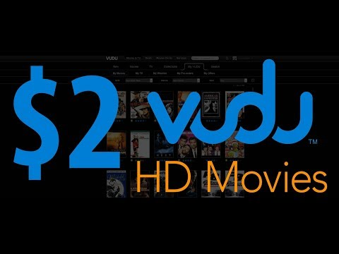 $2 Dollar VUDU HD Movies. Cheap Digital Movies. Bulk up VUDU. Better than Netflix. Bing Err