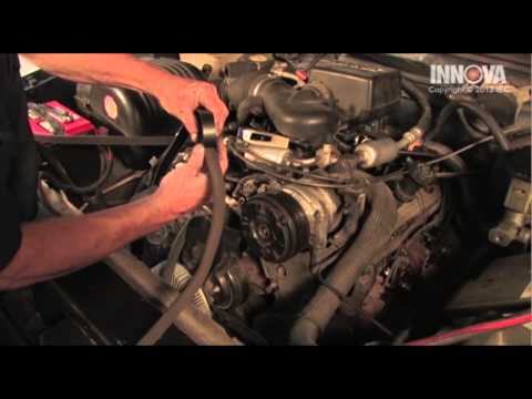 How to change Serpentine Belt - 1996 Chevy Suburban