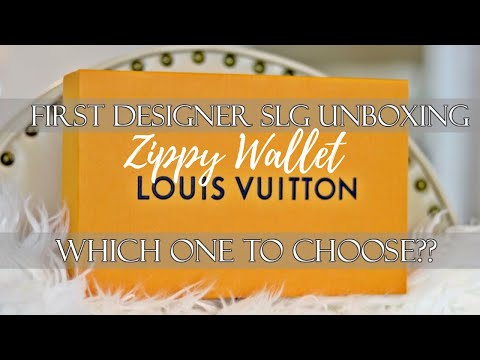 FIRST LOUIS VUITTON SLG (small leather good) | Unboxing & Review