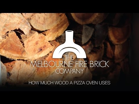 How much Wood a Pizza Oven Uses