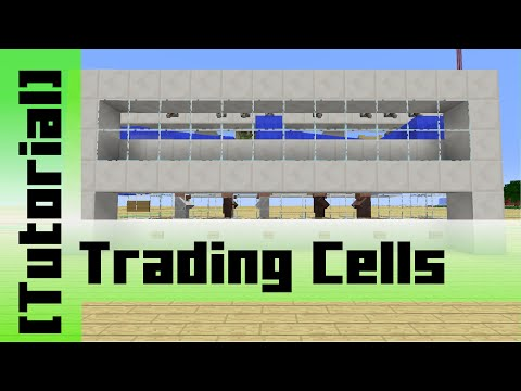 Automatic Villager Trading Cells [Tutorial] Minecraft 1.10
