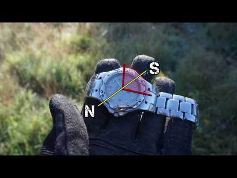 Find North using a Wrist-watch and the Sun - Navigation without a Compass