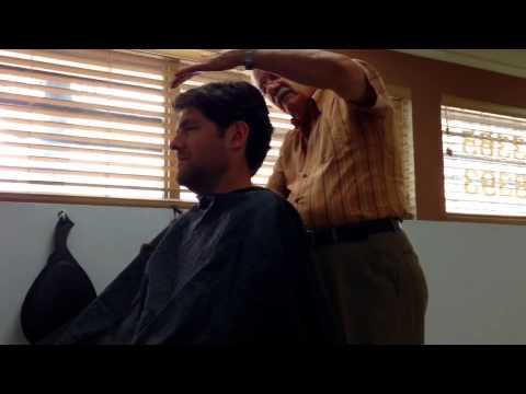 Puerto Rican haircut...see colon