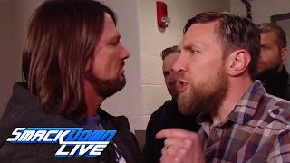 Daniel Bryan fires AJ Styles: SmackDown LIVE, March 14, 2017