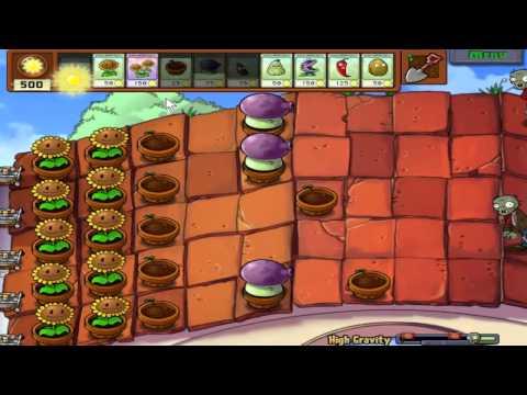Plants Vs. Zombies - High Gravity (Hidden Mini-Game)