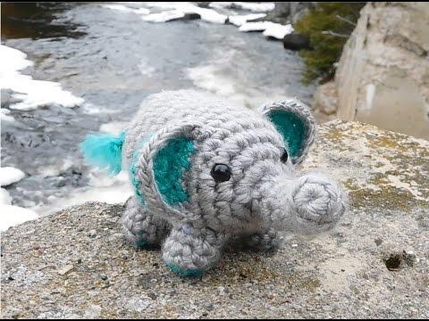 Amigurumi Crochet Elephant Tutorial