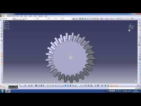 catiaPRET CATIA V5 how to make a bevel gear