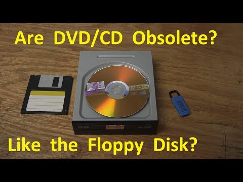 Are DVD and CD optical media obsolete, just like what happened to the Floppy Disk?