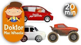 Dr Mac Wheelie auf Deutsch🔧🚘 Doktor Mac Wheelie und tolle Autos🏎️Zeichentrickfilme für Kinder