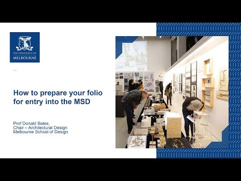 How to prepare your folio for entry into the MSD