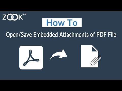 How to Open/Save Embedded Attachments of a PDF File?