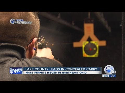 Lake Couny leads Northeast Ohio in concealed carry permits