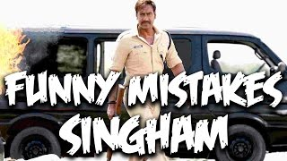 Everything Wrong With Singham | Ajay Devgan | Bollywood Mistakes | Episode #12