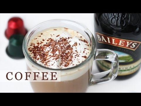 Baileys Coffee Recipe for Holidays - Irish Coffee 베일리스 아이리쉬 커피 만들기