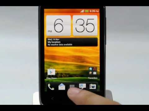 HTC Desire C: Turn off / on data services