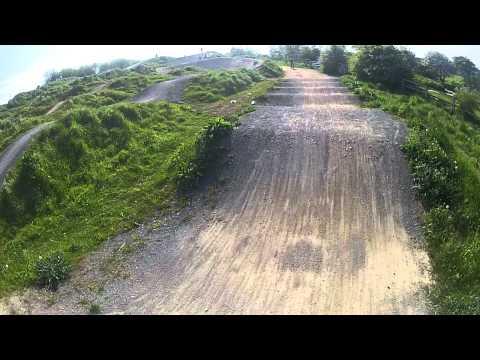 Berm To berm At Summerhill BMX Track