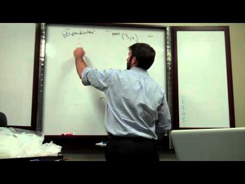 Equation of a Line   Perpendicular