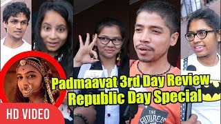 Padmaavat 3rd Day Review | Republic Day Special Review | Deepika, Shahid, Ranveer