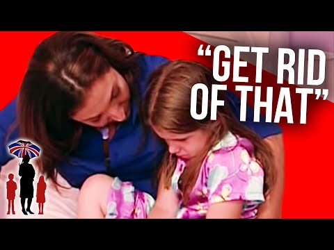 6 Year Old Gets Upset By Nap Bed Being Taken Away | Supernanny
