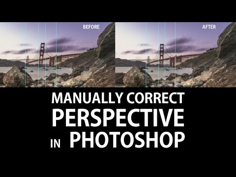 Manually correct Perspective in Photoshop