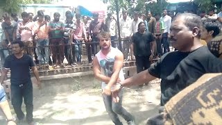 Khesari Lal MAKING Bhojpuri Action Movies Fight