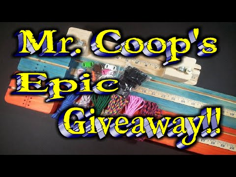 MrCoop's Epic Giveaway!! Runs From Aug. 1st through Aug. 15th. ((CLOSED))