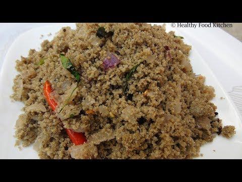Puttu Recipe in Tamil - Kambu Kara Puttu Recipe - Bajra Puttu Recipe - Kambu Puttu Recipe