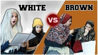 SCHOOL PARENT TEACHER MEETINGS! (White vs Brown)