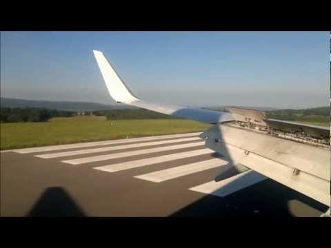 RYANAIR 737 Milan Bergamo(ITA) to Bristol (UK)