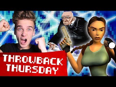 I LOCKED THE BUTLER IN THE FRIDGE | Tomb Raider II #TBT
