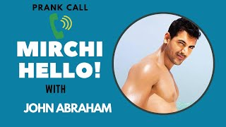 John Abraham prank calls a fan | Mrunal Thakur | Batla House | Mirchi Hello
