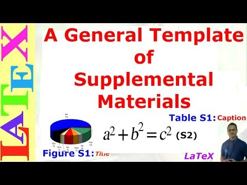 General Template of Supplementary Materials for Paper Publishing (LaTeX: Tips/Solution-33)