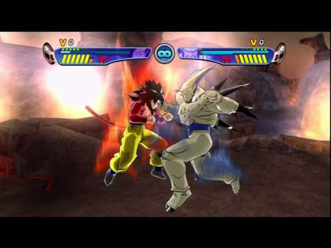DBZ Budokai 3 HD Collection Goku (SSJ4) Vs Omega Shenron