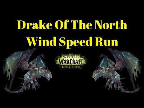 Warcraft Mounts - Drake Of The North Wind Mount Guide| Legion WoW