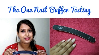 The One Nail Buffer Testing || Oriflame